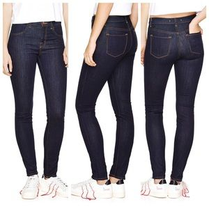 J Brand Jeans Maria Skinny Starless Dark Blue